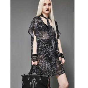 Spiderweb Tunic Dollskill Widow